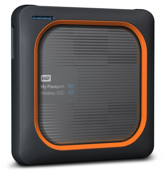 Externý disk Western Digital My Passport Wireless SSD