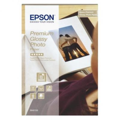 EPSON Premium Glossy Photo Paper 10x15cm/40ks