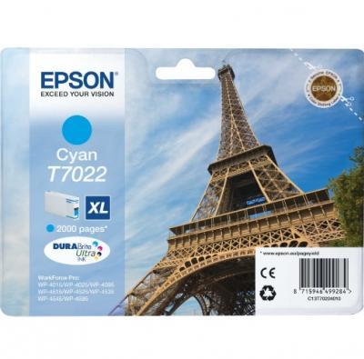EPSON T7022 azúrová 21ml