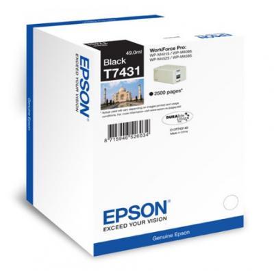 EPSON T7431 čierna 181ml