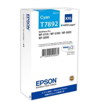 EPSON T7892 azúrová 34ml