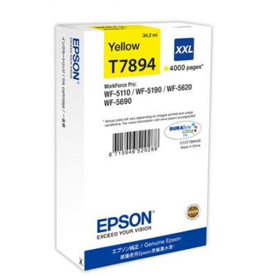 EPSON T7894 žltá 34ml