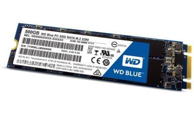 Western Digital Upgrade na  SSD M.2 500GB