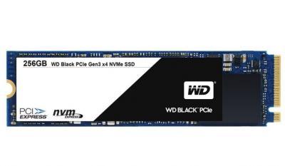 Western Digital SSD M.2 256GB Black series 2280 PCIe Gen3 x4 NVMe