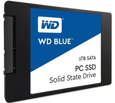 "Western Digital SSD 2,5"" 1TB Blue 3D NAND"