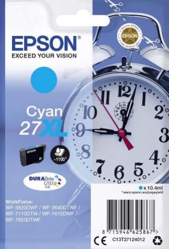 EPSON 27XL azúrová 10,4ml
