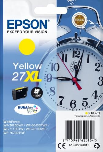 EPSON 27XL žltá 10,4ml