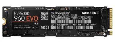 Samsung SSD M.2 500GB 960 EVO NVMe
