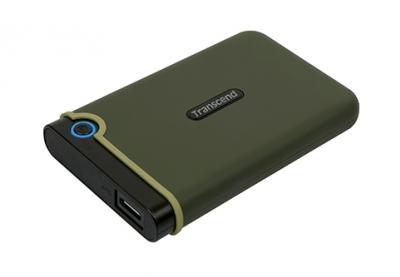 """Transcend Externý disk 2.5"""" StoreJet 25M3E 1TB USB3.0 Anti-Shock"""