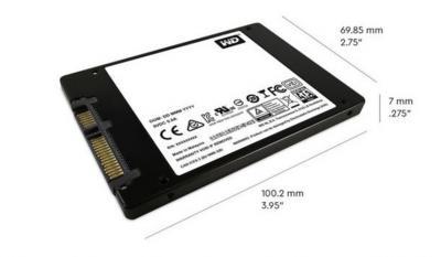 "Western Digital SSD 2,5"" 250GB Blue 3D NAND"