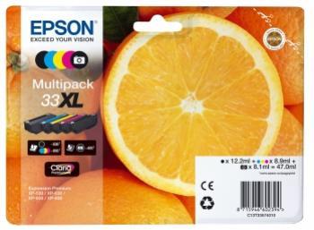 EPSON 33XL multibalenie 5 farieb 5 x 47ml