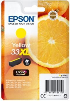 EPSON 33XL žltá 8,9ml