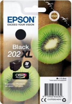 EPSON 202XL čierna 13,8ml