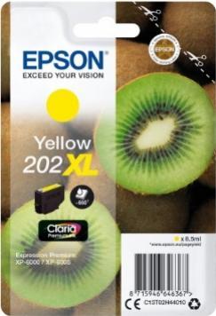 EPSON 202XL žltá 8,5ml