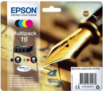 EPSON 16L multibalenie 4 farby 4 x 14,7ml