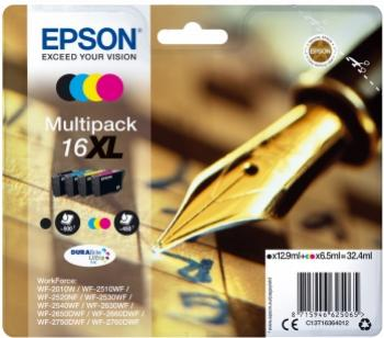 EPSON 16XL multibalenie 4 farby 4 x 32,4ml