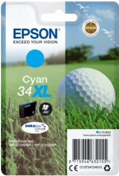 EPSON 34XL azúrová 6,1ml