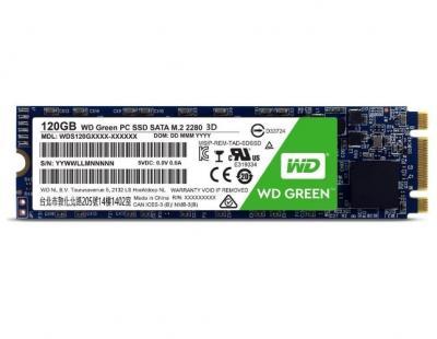 Western Digital SSD M.2 120GB Green 3D