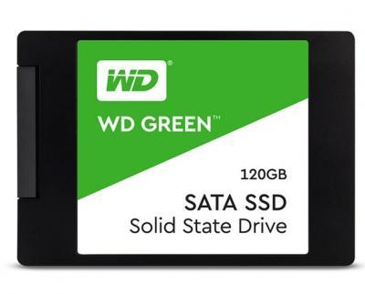 """Western Digital SSD 2,5"""" 120GB Green 3D NAND"""