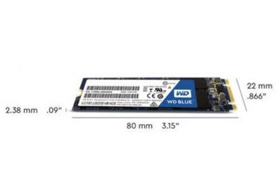 Western Digital SSD M.2  1TB Blue 3D NAND
