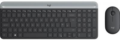 LOGITECH MK470 Set klávesnica myš US