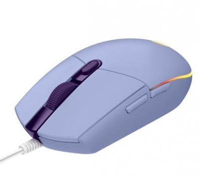 LOGITECH G203 Lightsync herná myš lila