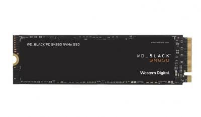 Western Digital SSD M.2 PCIe 500GB Black SN850 NVMe