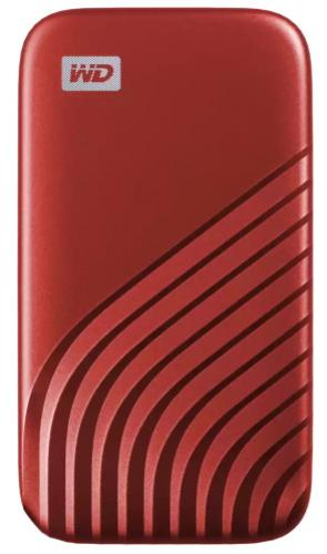 Western Digital Externý disk My Passport 2TB USB 3.2 Typ C červený