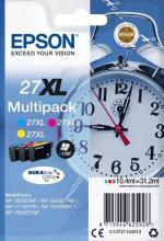 EPSON 27XL multibalenie 3 farby 3 x 10,4ml