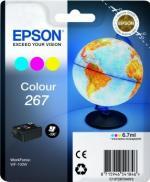 EPSON 267 multibalenie 3 farby  3 x 6,7ml