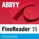 ABBYY FineReader 15 Corporate Single User License (ESD) 6 mesiacov 101 - 250 licencií